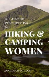 Hiking Camping Gear & Clothing for Women — A Woman Afoot