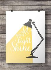 Let your light print impressive art print