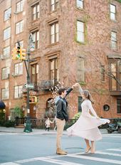 Spring in New York Metropolis Engagement Session