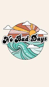 SOUTH BY SEA | @southbyseacollege Alpha Xi Delta | AXiD | No Bad Days | Retro Vi…