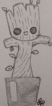 Photo of Baby Groot, #gardians_of_the_galaxy by Wolf Lyly (not the …