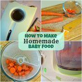 Recettes pour bébés avec des produits frais Préparateur d'aliments pour bébés Cook-n-Blend   – Good Food