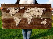 ♢ Habe die ganze Welt an deiner Wand!  ♢ Sehr gerne fertige ich auch individ…