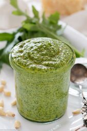 Rucola Pesto – schnell & einfach selbstgemacht – Pesto und Dip Rezepte