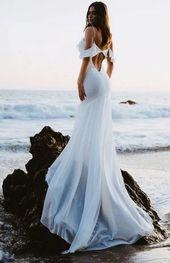 151 Strandhochzeitskleider perfekt für Hochzeiten in der Destination - Seite 29> Homemytri ....