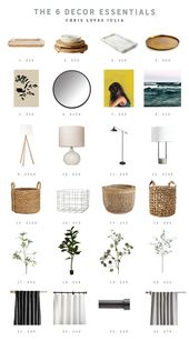 Die 6 Dekor-Essentials, die jedes Zimmer braucht -…