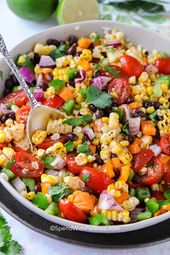 Black Bean and Corn Salad {ready in 20 mins