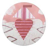 Loveheart Boat Eraser | Zazzle.com