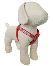 Red Sock Monkey Harness Dog Supplies H Style Dinosaur Stuffed Animal