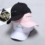 High Quality Women Hat Baseball Cap Men Solid Color Hats Fashion Casual Unisex Print Embroidery Cotton Snapback Tennis Caps – Bags