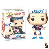 Figurine Stranger Things 3 Funko POP! Steve with Hat and Ice Cream 9cm – Funko P
