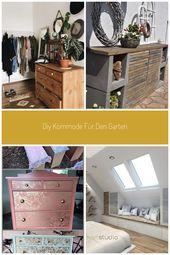 Rustikale Möbel verleihen deinem WG-Zimmer erst den richtigen Flair! #Dekoratio…