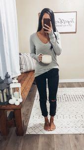 distressed black skinny jeans basic pullover sweater black skinny ankle jeans si...