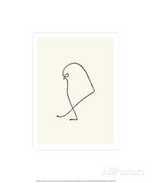 Der Spatz, um 1907 Serigrafie von Pablo Picasso