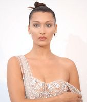 Bella Hadid caused a sensation with her outfit at the amfAR gala