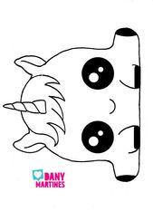 Resultado De Imagen Para Dibujos De Unicornios Kawaii Para