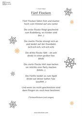 Schneeflocken-Fingerspiel für Kita & Krippe – Sprachförderung mit Spaß – Shop