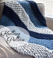 Crochet Blankets For Men :  Crochet Blankets For Men Begginer Knitting Projects …
