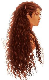 Draw pictures for beginners and advanced #campingpictures woman with long curly brown hair and tanned complexion, s …