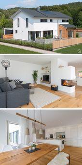 Einfamilienhaus ÖKOHAUS HERB mit Garage – Baufritz | direkter Aufbau   – HausbauDirekt