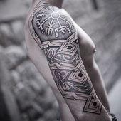 Tatuajes nórdicos: los 45 tatuajes escandinavos más increíbles que te encantarán   – Wikinger-tattoos