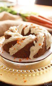 Mini Pastel De Zanahoria   – Food and Recipes