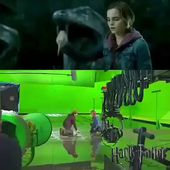 Harry Potter behind the special effects