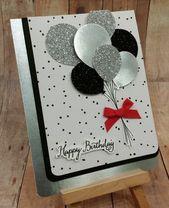 ▷ 1001 + Ideen, wie Sie Geburtstagskarten selbst gestalten können   – Feste