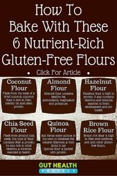 bc153b1f35bdfb3317661fd2f4c8cca4  gluten free baking gluten free recipes Gluten Free Cooking: Find Out Just How To Cook Along With These 6 Gluten Free Flours|Holistic ...
