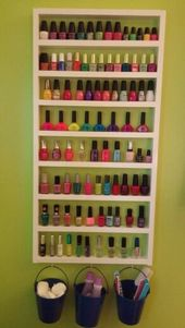 Ideas for preserving the creative and easy DIY polish 030