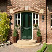 Rounding over the door all in sandstone! …   – Haus