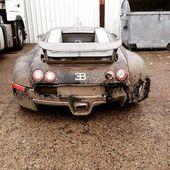 #auto #autos #supercars Bugatti Veyron aufgegeben! …   – Rusty cars