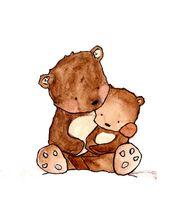 Baby Ilustration Unsarchival print Baby-Kinderzimmer print Childrens von ohhellodear