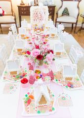 Blakely's 2nd Annual Gingerbread House Tea Party | Pizzazzerie