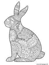 Notitle 4853 Ostern Zeichnung Ausmalbild Hase Malvorlagen Tiere