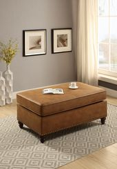 F6548 Camel Cocktail Ottoman by Poundex