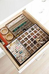 Bewahren Sie Schmuck in einer Schublade auf – Ac…