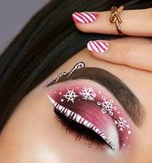 54 Amazing Christmas Makeup Ideas Looks You'll Love – Weihnachtsgeschenk, Mode und Make-up