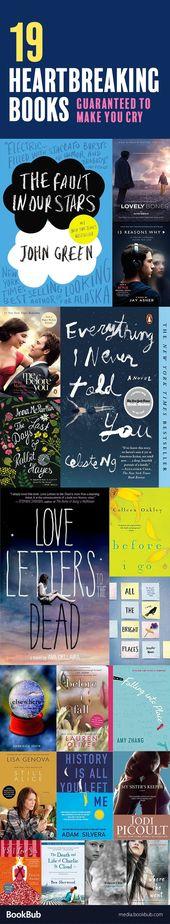 19 livres à lire qui ne manqueront pas de vous faire pleurer. Ces déchirants et em …  – Top Womens Fashion
