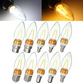 Non Dimmable E27 E14 E12 B22 B15 2W Filament Incandescent