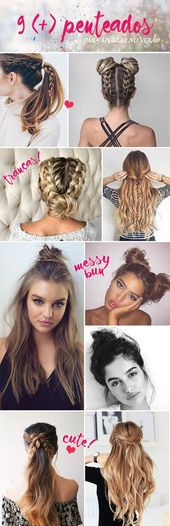 Back To School Hairstyles: Hairstyle Tips To Get Inspired This Summer #Tips #hair style easy #hair style for girls #hair style for school #hai …