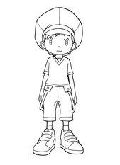 Digimon Malvorlagen 187 Gif 2400 3300 Digimon Coloring Books Digimon Frontier
