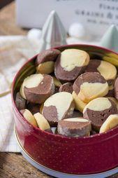 Diese zarten Schokoladen-Vanille-Kekse sollten während der Weihnachtszeit nicht fehlen   – Butterkekskuchen
