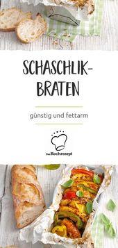 Schaschlik-Braten