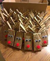 Fun & Easy Weihnachtsgeschenke für Kinder – Schokoriegel