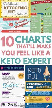 Guía rápida de KETO DIET FOR BEGINNERS en infografías y gráficos. ¿Qué es el cetoge …