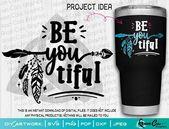 SVG| | Be YOU Tiful | Cut or Print DIY Art Beautiful Dreamcatcher Boho Chic Art Camper Glamp Hippie – Products