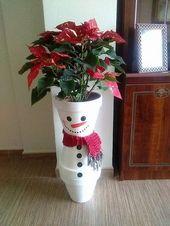 +22 Creative Snowman Christmas Decorating Ideas #Creative #Snowman #Christmas #Decor #Home