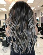 Schöne Haarfarbenideen für die Frühjahrssaison 2018 #Fruchtsaison #Haarbild #süß