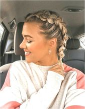 30 BEST FRENCH BRAID SHORT HAIR IDEAS 2019 #geflochteneFrisuren #braidedhairstylesshort